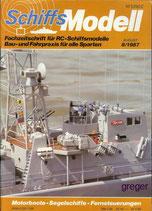 Schiffsmodell 8/87 b  abl