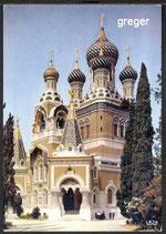 AK Nice, Cathédrale Orthodoxe Russe    97n