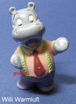 Die Happy Hippo Companie von 1994  - Willy Warmluft  - ohne BPZ    -  2x