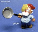 Die Küchenzwerge von 1999  - Hansi Hoppla  -  ohne BPZ   1x