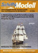 Schiffsmodell 10/85 d  abl