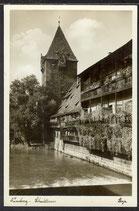 AK Nürnberg Schuldturm 9/27