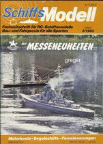 Schiffsmodell 3/85 d  abl