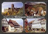 AK Gruß aus der Wartburgstadt Eisenach   22/33
