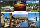 AK Bregenz am Bodensee, Mehrbildkarte     54/40