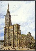 AK La Cathérale de Strasbourg    t 23