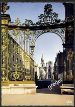 AK Nancy Place Stanislas et la Cathédrale    x16