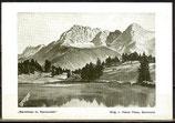 AK Geroldsee mit Karwendel, Gemäldekarte     56/18