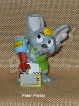 Mega Mäuse von 2001  - Peter Printer  - ohne BPZ  - 1x