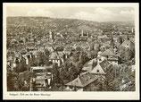 AK Stuttgart, Blick von der Neuen Weinsteige      72/31