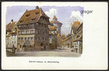 AK Dürer-Haus in Nürnberg    83j