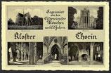 AK Kloster Chorin in Brandenburg Mehrbildkarte    9/2  kl