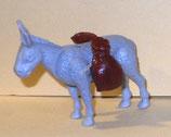 Reit und Lasttiere im Orient  - Esel - mit BPZ Nr, 611 867 - 3x