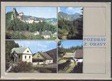 AK Pozdrav z Oravy, Mehrbildkarte    57/51