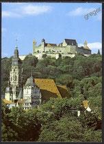 AK Veste Coburg mit Moritzkirche   15/28