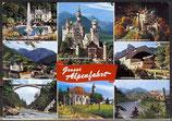 AK Grosse Alpenfahrt, Mehrbildkarte    56/27