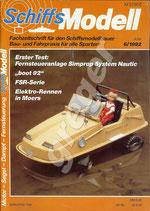Schiffsmodell 6/92 b