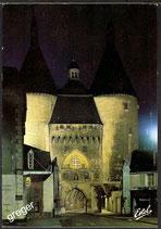 AK Nancy, Le Porte de la Craffe vue de nuit    41/30