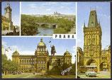AK Prag Mehrbildkarte    w44
