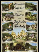 AK Mehrbildkarte von der Fränkischen Schweiz   69/48