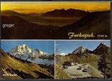 AK Furkajoch, zwischen Laterns und Damüls,  Mehrbildkarte    28n
