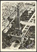 AK Paris La Tour Eiffel    x9