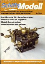 Schiffsmodell 6/88 a