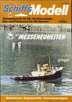 Schiffsmodell 3/83 e  abl