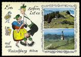 AK Rauschberg, Zweibildkarte  70/15
