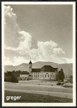 AK Die Wies. Wallfahrtskirche    29m