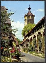 AK  Rothenburg ob der Tauber, Wehrgang beim Klingentor, Wall     34/48