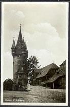 AK D. Reich v. 1931 Lindau, Diebsturm   32/20