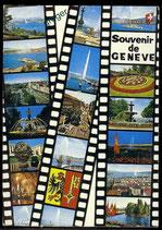 AK Genf, Mehrbildkarte    64/28