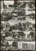 AK Bad Salzuflen. Mehrbildkarte    41-l