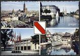 AK Strasbourg, Mehrbildkarte    103m