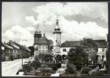 AK Dačice Ansicht mit Kirche    w19