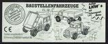 Baustellen Fahrzeuge von 1997 Zugmaschine    617954 - 1x