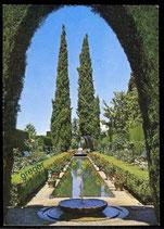 AK Granada, Gartenansicht    62/41