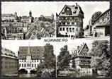 AK Nürnberg, Mehrbildkarte    79p