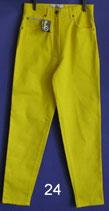 gelbe Damen Hose in Gr. L nicht getragen Nr. 24
