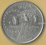 QUARTER DOLLAR - Indiana von 2002   - 1x