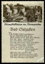 AK Bad Salzuflen, Spruchkarte    71/26