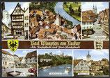 AK Bad Wimpfen am Neckar, Mehrbildkarte    7p