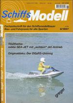 Schiffsmodell 6/97 a