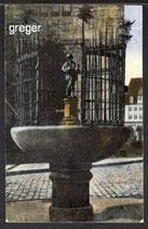 AK Nürnberg - Das Gänsemädchen      19b