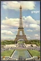 AK Paris, la Tour Eiffel    75m