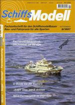 Schiffsmodell 9/97 a