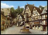 AK Miltenberg, Hist. Marktplatz mit Schnatterloch   68/48