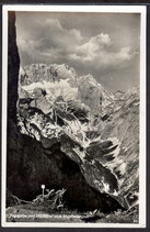 AK Zugspitze u. Höllental vom Hupfleitenjoch 9/41
