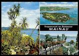 AK  Mehrbildkarte, Insel Mainau im Bodensee   70/44
